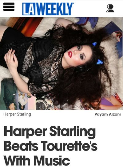 Harper Starling featured on LAWeekly