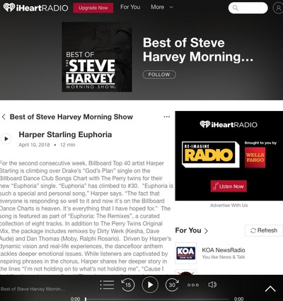 Harper Starling featured on iHeart Radio