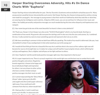 Harper Starling featured on The {C} Magazine